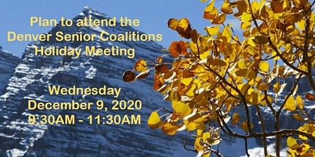 Denver Senior Coalitions Holiday Meeting 2020 tickets