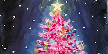 'Christmas Glow' Paint and Sip Event tickets