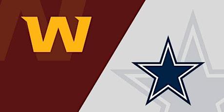 Washington vs Dallas TV Watch Party tickets