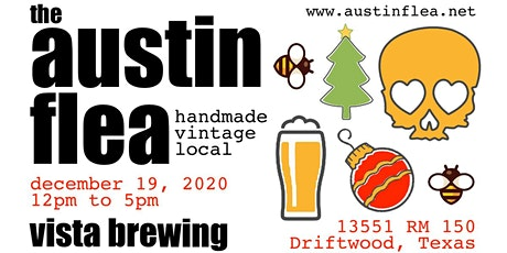 Holiday Austin Flea at Vista Brewing tickets