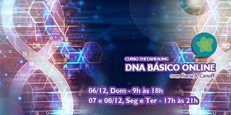 CURSO THETAHEALING – DNA Básico ONLINE tickets