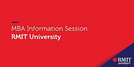 MBA Information Session – RMIT University tickets