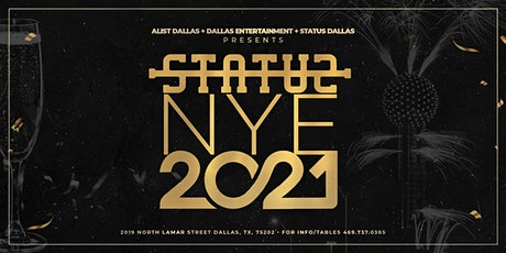Status NYE 2021 tickets