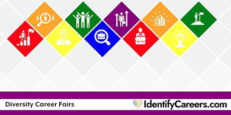 Diversity Career Fair 8/26/21 Virtual Job Seeker Registration San Francisco biglietti