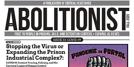 """Pandemic as Portal"" The Abolitionist #33 Launch Event tickets"