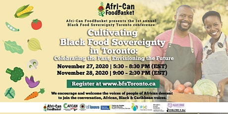 Cultivating Black Food Sovereignty in Toronto tickets