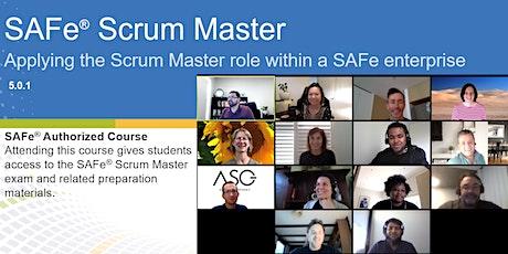 SAFe Scrum Master (Online) tickets