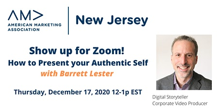 Show Up for Zoom!  Presenting your Authentic Self (Meeting) tickets