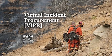 Virtual Incident Procurement [VIPR] | Forest Service Procurement tickets