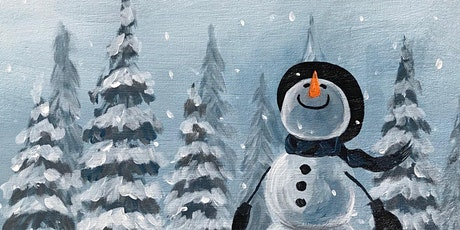 Painting and Vino at Mess Hall: 'Let It Snow' tickets