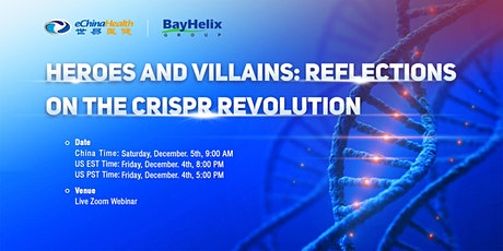 Heroes and Villains: Reflections on the CRISPR Revolution tickets