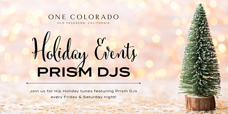 Prism DJs for One Colorado's Courtyard Dining tickets