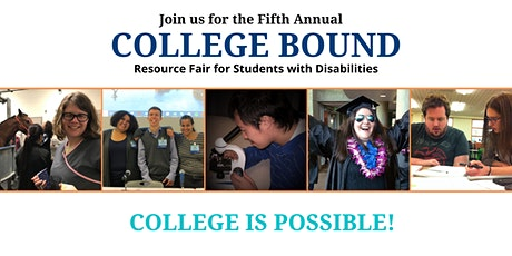 College Bound Resource Fair for Students with Disabilities tickets
