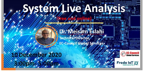 Cybersecurity workshop series (System Live Analysis) tickets
