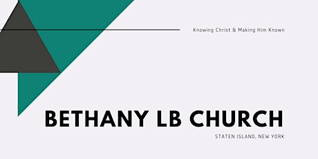 Copy of Bethany Church In-Person 11/29 tickets