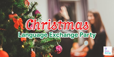 Christmas Special!! JPN-ENG Language Exchange / Dec 4 / Washington tickets