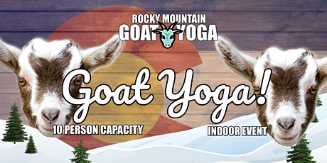 Goat Yoga - December 12th  (RMGY Studio) tickets