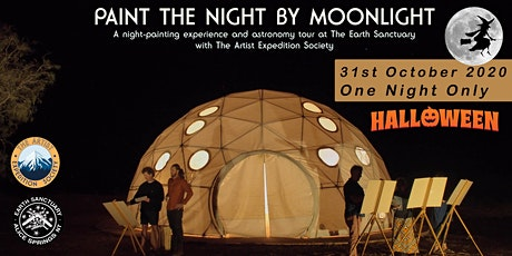 Paint the Night By Moonlight on Halloween tickets