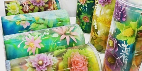 Special Edition: 3D Jelly Art Floral - Roll & Champagne Glass tickets