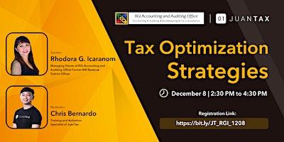 Tax Optimization Strategies