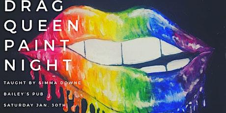 Drag Queen Paint Night tickets