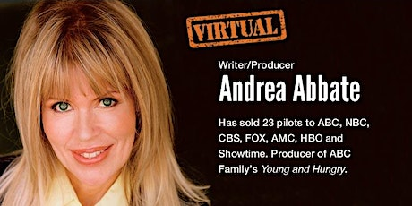 HOW TO BREAK IN TO THE INDUSTRY with PRODUCER ANDREA ABBATE tickets
