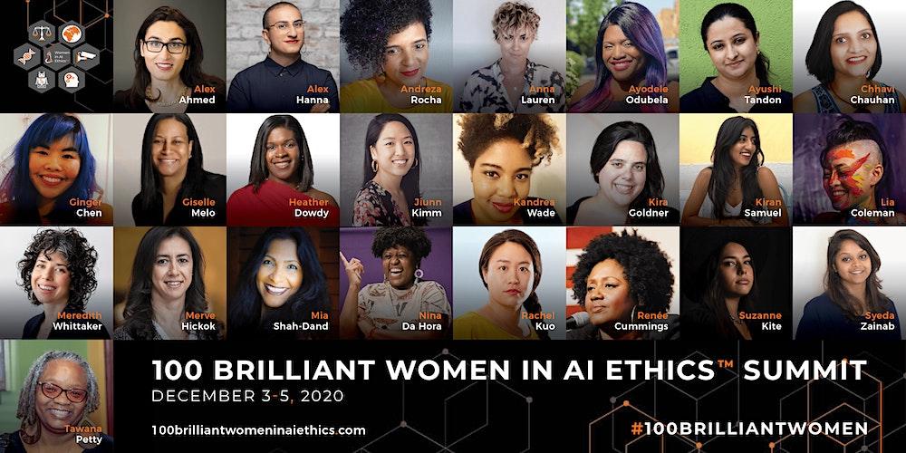 Organizer of 100 Brilliant Women in AI™ Summit -2020
