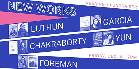 N E W   W O R K S  //  Room Project Reading + Fundraiser tickets