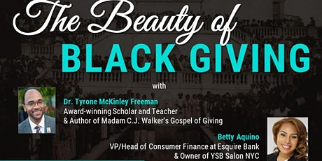 BPC Webinar Series: The Beauty of Black Giving tickets