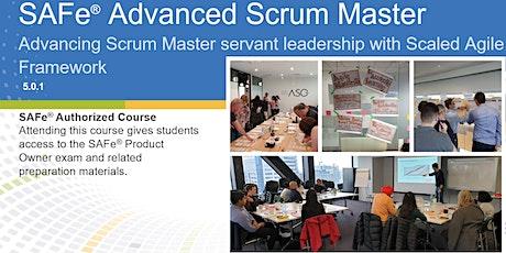 SAFe Advanced Scrum Master 5.0 (Online) tickets