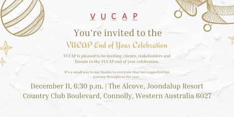 VUCAP End of Year Celebration tickets