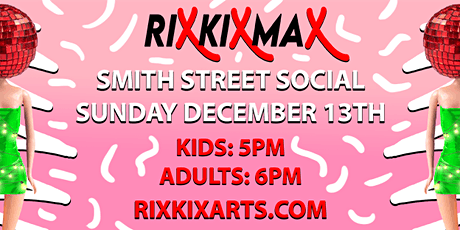RIX KIX MAX DANCE PARTY! tickets