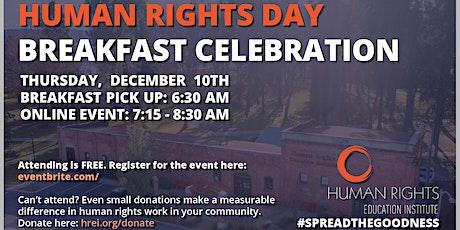 Human Rights Day Breakfast Celebration tickets