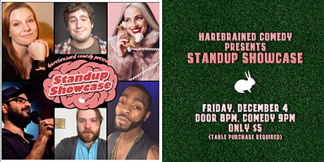 Harebrained Comedy presents Standup Showcase tickets
