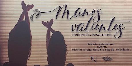 Manos Valientes - Conferencia para mujeres boletos