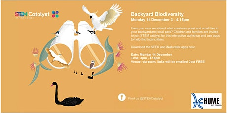 Backyard Biodiversity with STEM Catalyst tickets