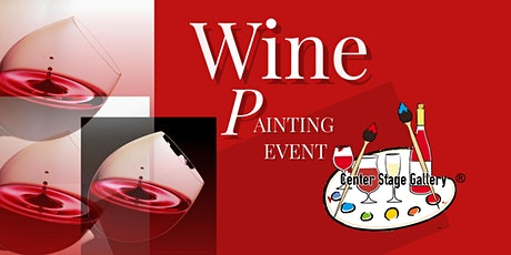 Copy of Wine Glass Painting Class tickets