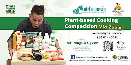 Plant-based Cooking Competition tickets