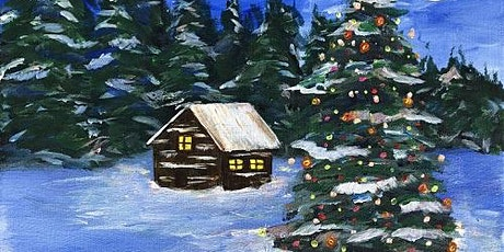 Painting and Vino: 'Snowy Holiday' tickets