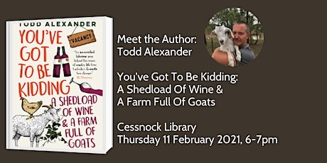 Meet the Author: Todd Alexander tickets
