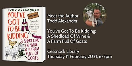 Meet the Author: Todd Alexander