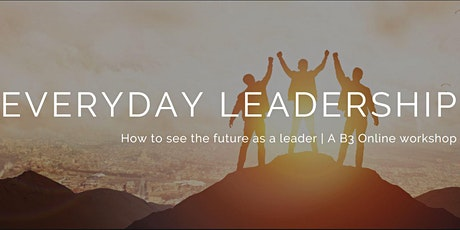 How to See The Future As A Leader [ONLINE EVENT] tickets