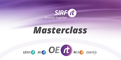 SIRF  OERt Masterclass |  C.I Workshop with Vative tickets