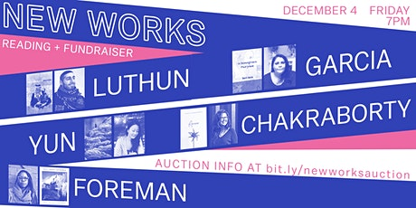 N E W   W O R K S  //  Room Project Reading + Fundraiser tickets