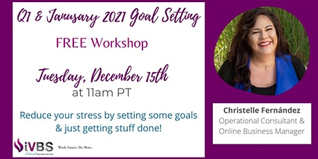 Free January Goal Setting Workshop tickets
