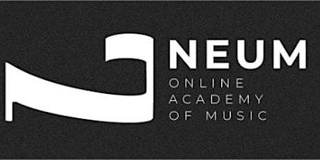 NEUM - Seminario Pruebas de Acceso al conservatorio Superior - Piano entradas