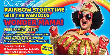 Rainbow Story Time with The Fabulous Wonder Mama tickets