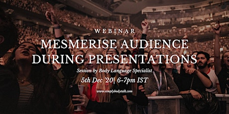 Mesmerise Audience during Presentations- Online tickets