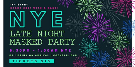 New Years Eve Late Night Masked Party tickets