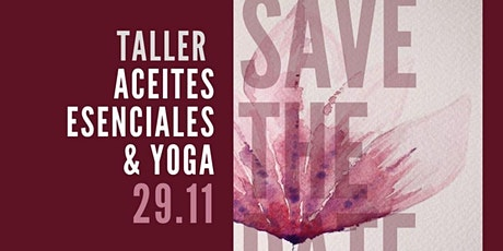 Taller – Aceites Esenciales & Yoga Nidra entradas